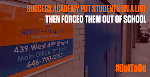 Success Academy Petition