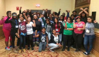 Youth Organizers at J4J Conference