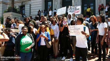 Newark Student Walkout