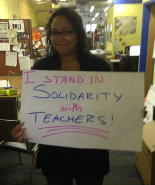 Solidarity with Teachers